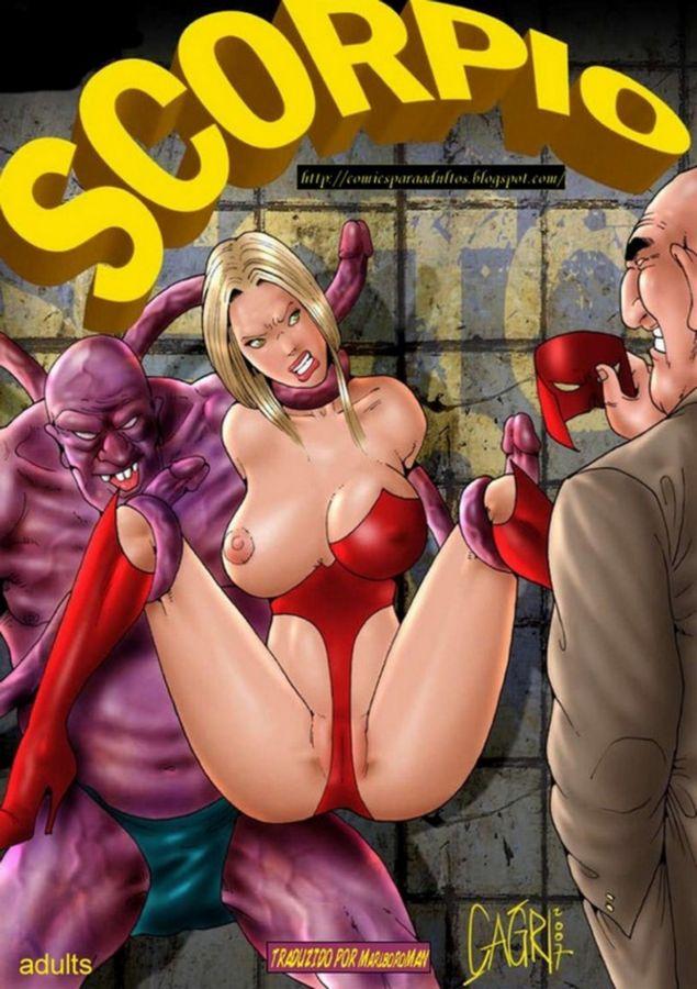 scorpio - quadrinhos eroticos